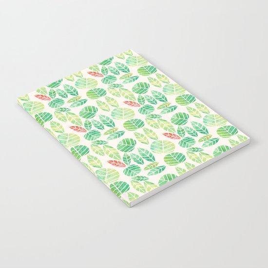 minimalist spring Notebook