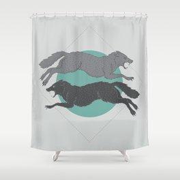 Sons of Fenrir Shower Curtain