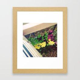 #142Photo #156 #Flowers Framed Art Print
