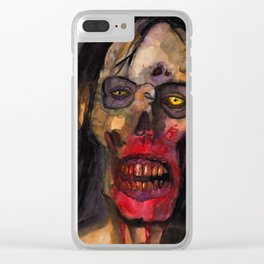 Still Starving Clear iPhone Case