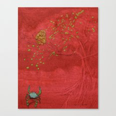 The Crab and the Monkey Canvas Print