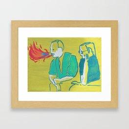 """Double Talk"" Framed Art Print"