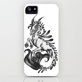 A Majestic Kelpie iPhone Case