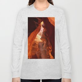 A Canyon Sculptured By Water Long Sleeve T-shirt