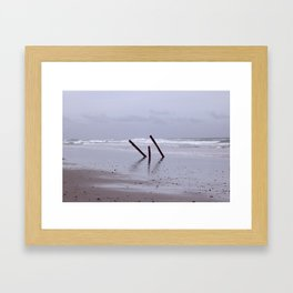 Beach Beauty (2) Framed Art Print