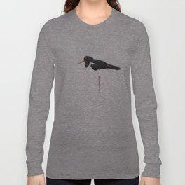 scholeksters scholekster high key oystercatcher  Long Sleeve T-shirt