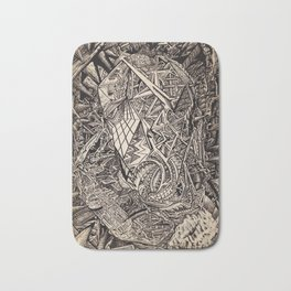 Diffracted (Cavern Dweller) Bath Mat