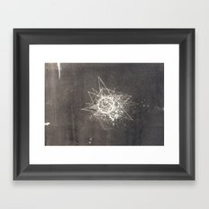 Empty Space Framed Art Print