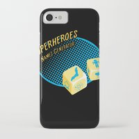 super heroes iPhone & iPod Cases featuring Super-Heroes-Name-Generator by sergio37