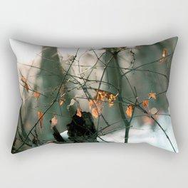 Snow in the Evening Light Rectangular Pillow