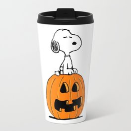Helloween snoopy Travel Mug