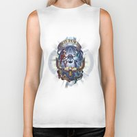 borderlands Biker Tanks featuring Tales from the Borderlands - Do it for Her by animatenowsleeplater