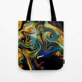 octopusses garden liquid gold Tote Bag