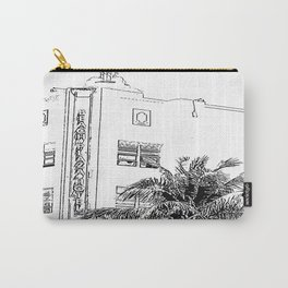 Miami Beach Hotel Carry-All Pouch
