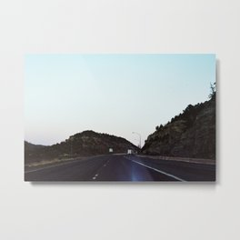 Highway 25 at Sunrise Metal Print