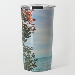 Lonely by the lake Travel Mug