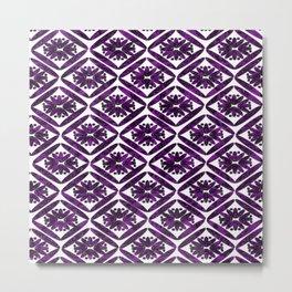The Purple Diamond Metal Print