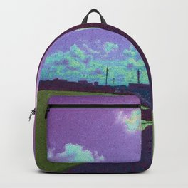 Under The Shadow - Purple Backpack