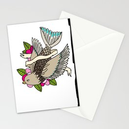 The world is a small place after all. Stationery Cards