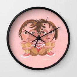 Gemini (rose) Wall Clock