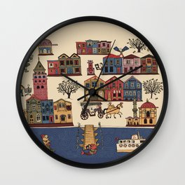 Urban Regeneration Wall Clock