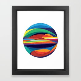 Turn Around Framed Art Print