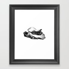 OYSTER Framed Art Print