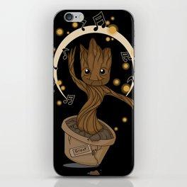 Groovy baby Groot iPhone Skin