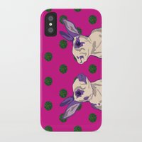 coral iPhone & iPod Cases featuring coral by Gray