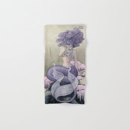 Lavender Mermaid Hand & Bath Towel