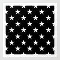 Stars (White/Black) by 10813apparel