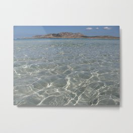 stintino beach Metal Print