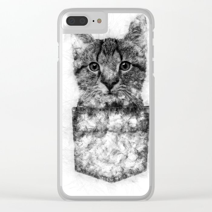 MEAW Clear iPhone Case