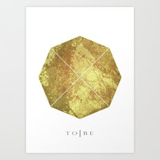 Octagon Design Art Print