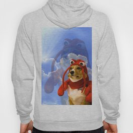 Lobster Corgi Hoody