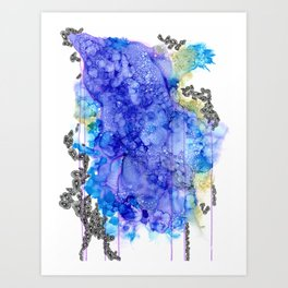 Into the Waves Art Print