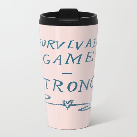 Survival - Strong Metal Travel Mug