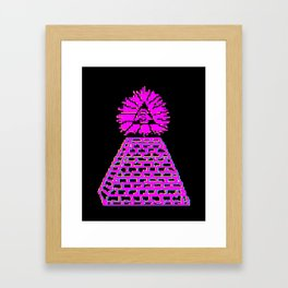 Everything is Under Control Framed Art Print