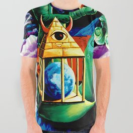 The Practical Deception by Vincent Monaco All Over Graphic Tee