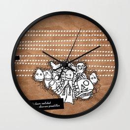 pesadillas Wall Clock