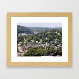 Harpers Ferry 2 Framed Art Print