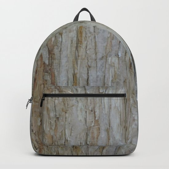 TEXTURES -- Dawn Redwood Bark Backpack