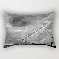 The Fate of Sir Charles Vane: Mutiny and the Cursed Lands Rectangular Pillow