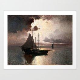 Carl Brandt Swedish, 1871-1930, After the Storm 1914 Art Print