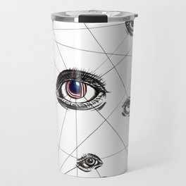 eye contact Travel Mug
