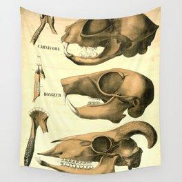 Carnivore; rongeur; ruminant Wall Tapestry