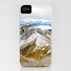 Swiss Alps iPhone (4, 4s) Slim Case
