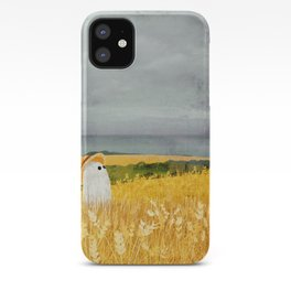 There's a ghost in the wheat field again... iPhone Case