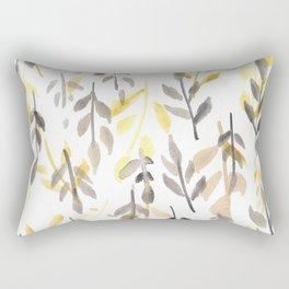 170814 Leaves Watercolour 5 Rectangular Pillow