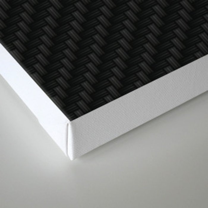 Carbon Fiber Canvas Print